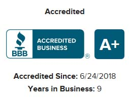 A+ Accredited Business by the BBB